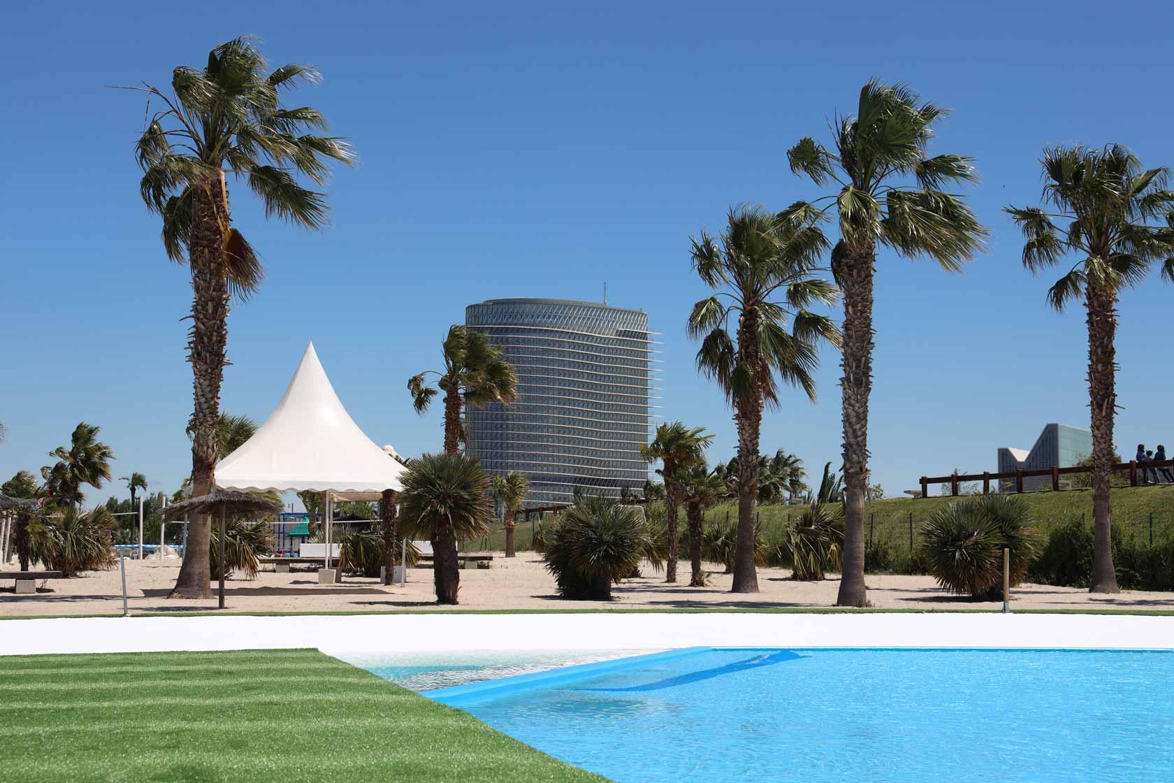 Disfruta de un día de playa sin salir de Zaragoza