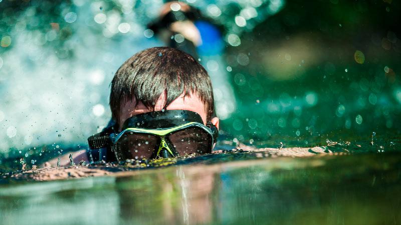 Snorkel infantil en el Acuario de Zaragoza